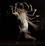 Bohyně Šakti v rituálním tanci